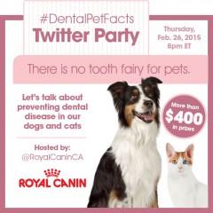 #DentalPetFacts Twitter Party!