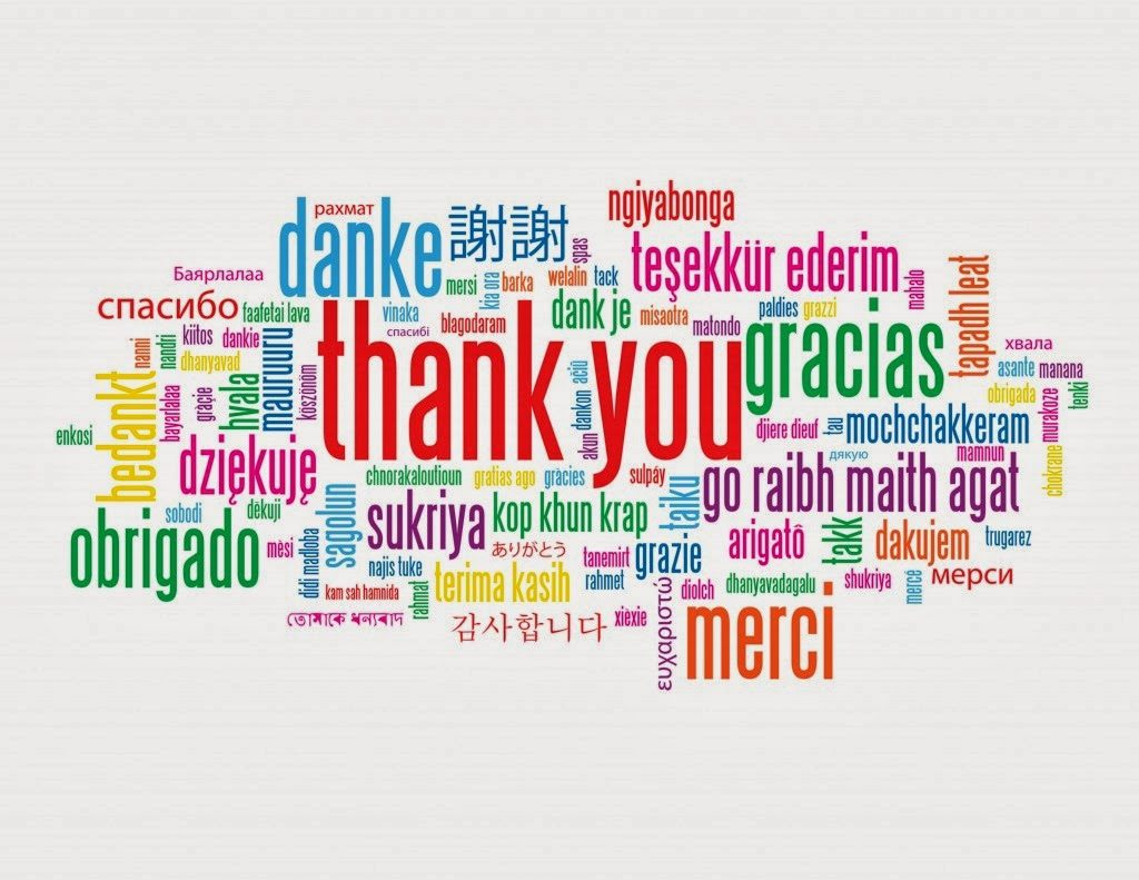 """Lets Start With Saying """"Thank You"""""""