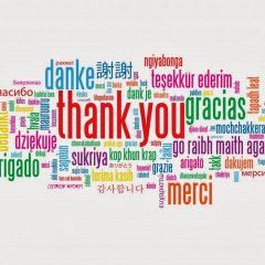 """Let's Start With Saying """"Thank You"""""""