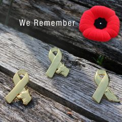 Remembrance Day -Animals in War Collectible Pin
